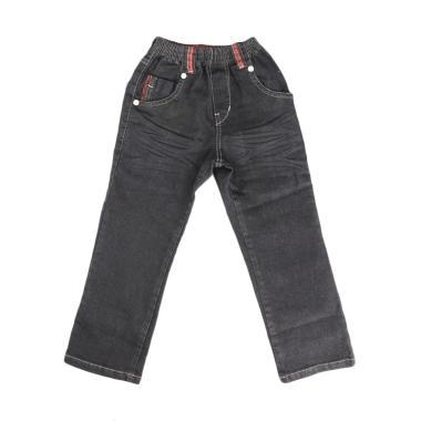 Versail Enfant Celana Jeans Panjang Anak Laki - Black