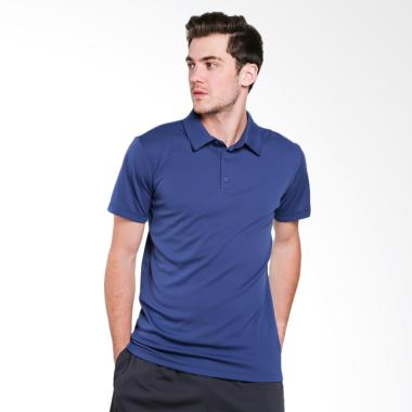 adidas Men Tennis Climachill Polo Shirt Pria [CE1444]