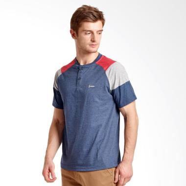 Hammer T-Shirt Pria - Blue [G1HF038N1]