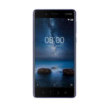 Nokia 8 Smartphone - Polished Blue [4GB/64GB]