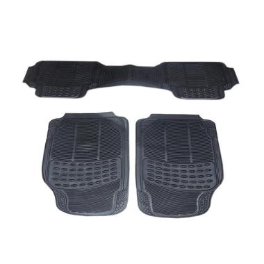 DURABLE Comfortable Universal PVC K ... ota yaris - Black [3 pcs]