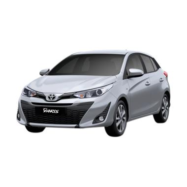 Toyota New Yaris 2018 1.5 G Grade Mobil - Silver Metallic
