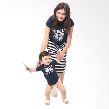 Mooimom 2 Piece Number 32 Maternity ... il Menyusui Couple - Navy