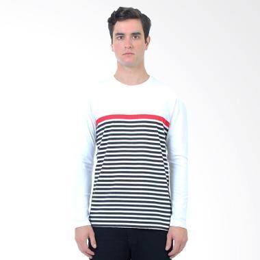 Manzone Slim fit Kite T-Shirt Pria - White