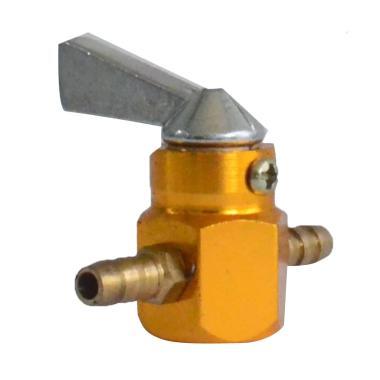 Raja Motor KNB8002 CNC Keran Bensin - Gold