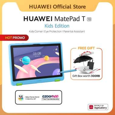 HUAWEI MatePad T10 Kids Edition Tablet [2GB/32GB] | Mainan Anak-anak | Kids Corner | Parental Assistant |
