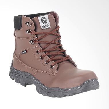 Blackkelly Boots Shoes Sepatu Boot Pria - Coklat [BLK-LTA 608]
