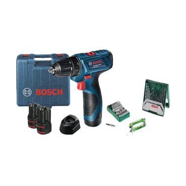 Bosch GSR 120-LI Cordless Drill Mes ... ial Set Mata Bor [41 pcs]