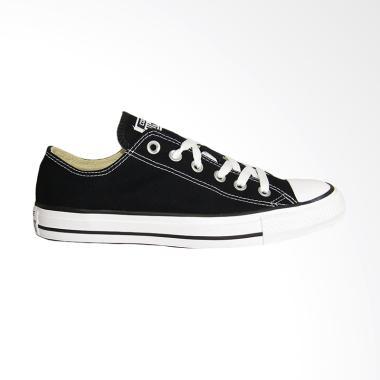 Converse Chuck taylor All Star Canvas Ox Sepatu Pria - Black White