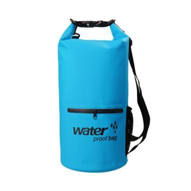 OEM Waterproof Dry Bag dengan Kantong Depan [20 Liter]