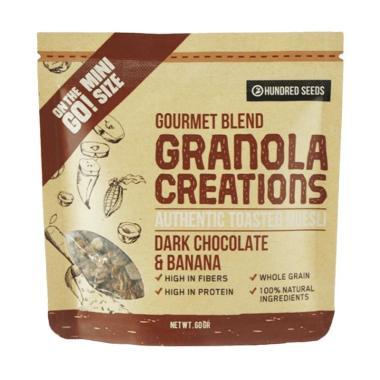 harga Lemonilo Granola Creations Granola Pisang Cokelat Gourmet Mix Makanan Kering [60 gr] Blibli.com