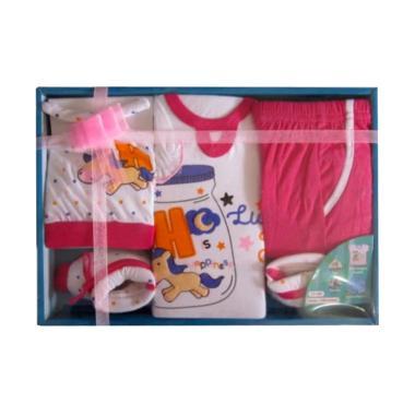 Kiddy 11144 Baby Set Pakaian Bayi - Pink