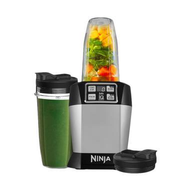 Ninja BL480UK Nutri Blender with Auto-iQ - Silver [1000W]