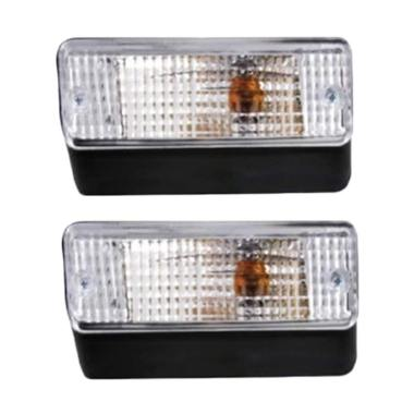 DNY Fog Lamp Crystal Set Lampu Bemper for Toyota Kijang Grand [2 pcs]
