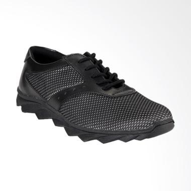 Blackkelly Sneaker Kasual Sepatu Pria - Hitam [BLK-LAD 469]