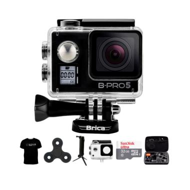 Brica B-PRO 5 AE Mark IIs AE2s Comb ... pin Action Camera - Hitam