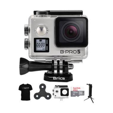Brica B-PRO 5 AE Mark IIs AE2s Comb ... in Action Camera - Silver