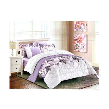 Pantone Roan Set Sprei dan Bed Cover