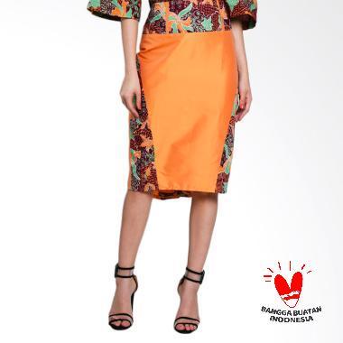 Lombang Batik by Yati Law Span Rok Wanita - Orange