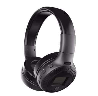 harga Headset Bluetooth Headphone with TF & FM Radio Blibli.com