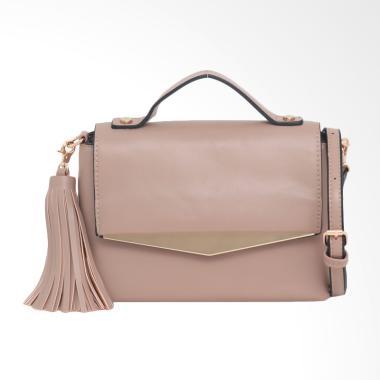 Lorica by Elizabeth Cressida Sling Bag Wanita - Khaki