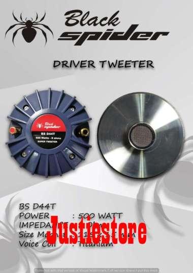 harga Driver tweeter black spider BS D44T Blibli.com