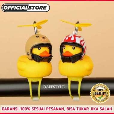 harga Boneka Bebek Kuning Helm LED Lampu Aksesoris Sepeda Motor Lucu Unik Limited HELM HITAM Blibli.com