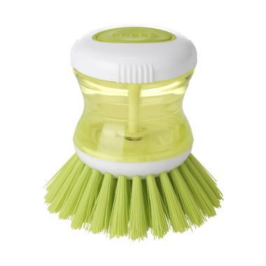 IKEA Sikat Cuci Piring & Panci Dengan Tabung Dispenser Sabun