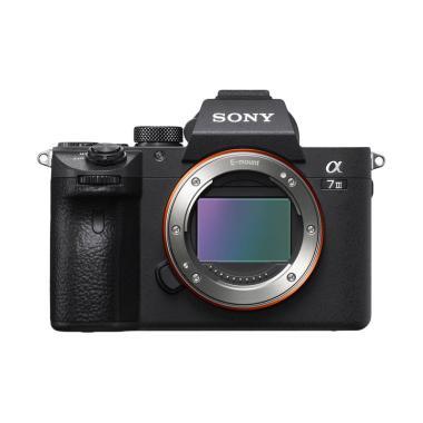 SONY Alpha a7 III Kamera Mirrorless - Black [Body Only]
