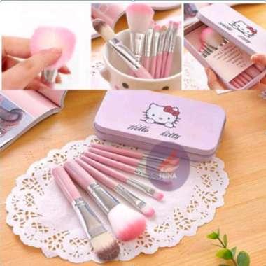 harga Jual Kuas Make Up 7 in 1 Hello Kitty  Make Up Tools  Make Up Diskon Blibli.com