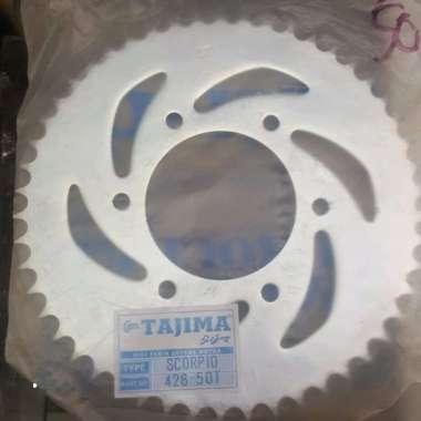harga Sprocket Gir Gear Blkg Belakang 428 60 60T Yamaha Rxking RXZ Rx king Jupiter Mx Vega Tajima No SSS TK Racing Blibli.com