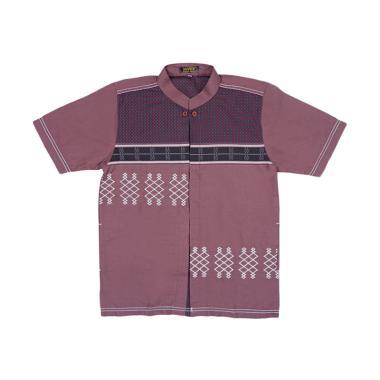 Woffi PDK W-257 MS-00-376 Baju Muslim Anak - Maroon