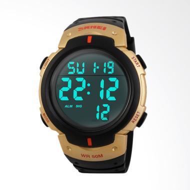 Skmei Digital Sport LED Jam Tangan Pria - Gold [DG1068]