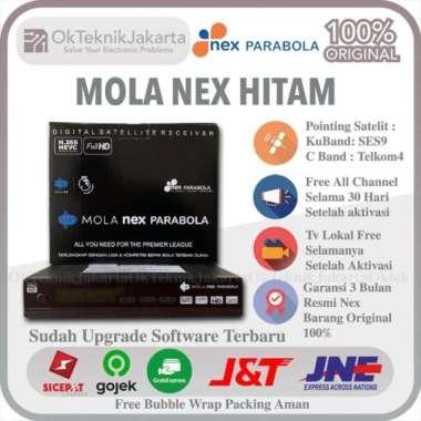harga Receiver Parabola Mola Nex Parabola Hitam Hybrid C Band Ku Band MolaTV multiwarna Blibli.com
