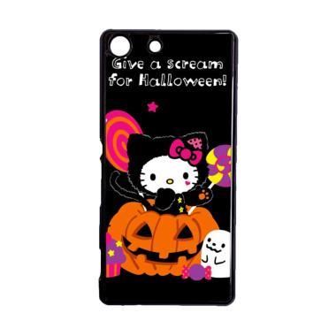 harga Bunnycase Halloween Hello Kitty Trick Or Treat 2 L1961 Custom Hardcase Casing for Sony M5 Dual Blibli.com