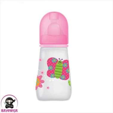 harga Unik BABYSAFE Bottle Botol Susu Bayi Anak 125 ml - Pink Buterfly Berkualitas Blibli.com