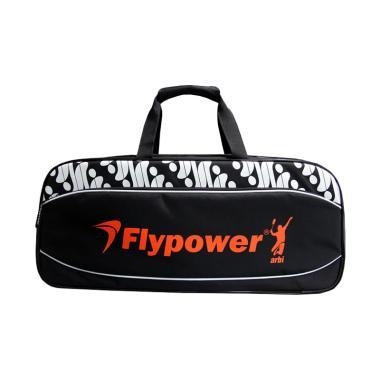 Flypower Safir 4 Tas Badminton - Black b9ee1cfd8d