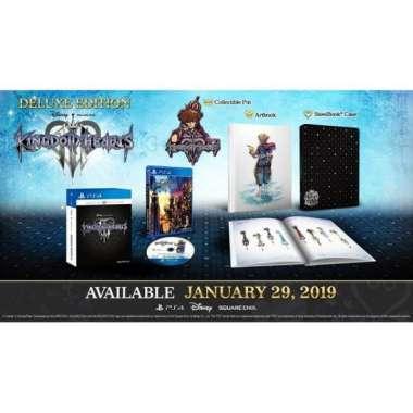 harga PS4 Kingdom Hearts III - Kingdom Heart 3 Deluxe Edition Reg 3 Asia Blibli.com