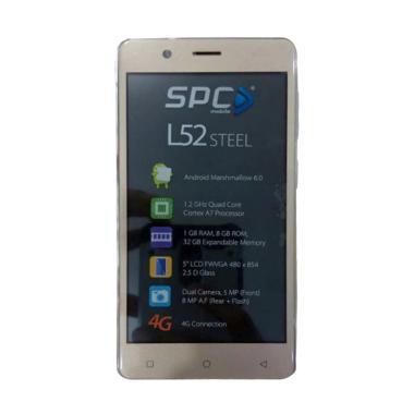 SPC L52 Steel Smartphone - Gold [1GB/ 8GB/ 4G LTE]