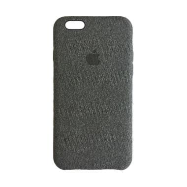 OEM Jeans Cotton Skin Back Hardcase ... tau iPhone 6S Plus - Grey
