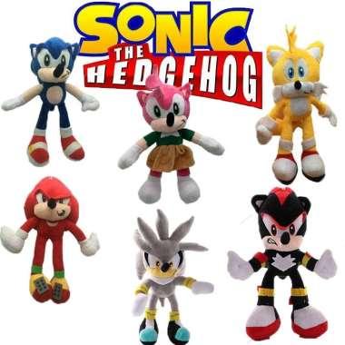 harga 2020 Boneka Super Sonic The Hedgehog Bahan Plush Ukuran 25-30cm Untuk Hadiah Blibli.com