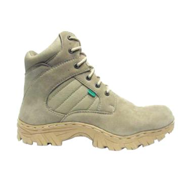 Kickers Porsh Safety Hiking Shoes - Cream