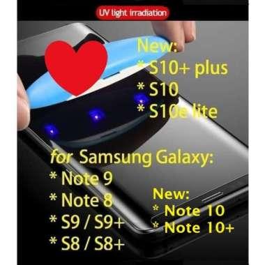 harga Unik Galaxy Note 1010 9 8 S10 S10 S9 S8 plus lite - 3D UV Tempered Glass Berkualitas Blibli.com