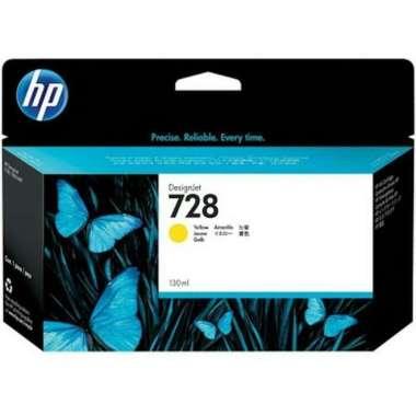 harga Tinta HP 728 PLOTTER [C M Y] ORIGINAL Yellow Blibli.com