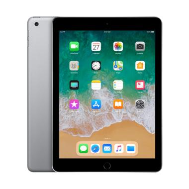 Apple New iPad 2018 128 GB Tablet - ... r]Internasional- (Ipad 6)