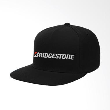 IndoClothing Bridgestone Topi Snapback Pria - Hitam