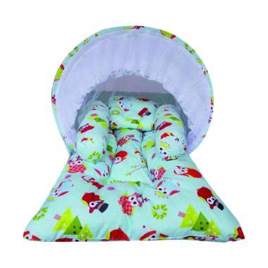 Elha Baby KBLK129 Frozen Kasur Bayi Lipat Kelambu - Multicolor