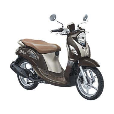 Yamaha Fino Premium 125 Blue Core Sepeda Motor - Choco Caramel
