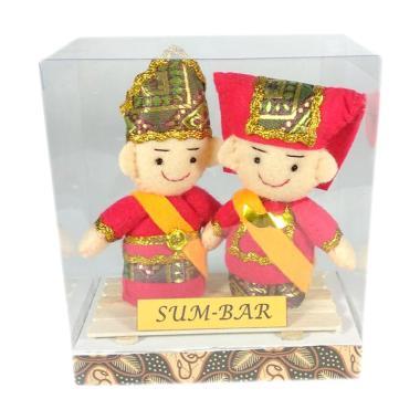 MMS Pakaian Adat Minang Sumatera Barat Boneka