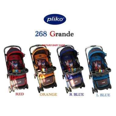 harga PLIKO GRANDE STROLLER BAYI / KERETA DORONG BAYI PLIKO Royal blue Blibli.com